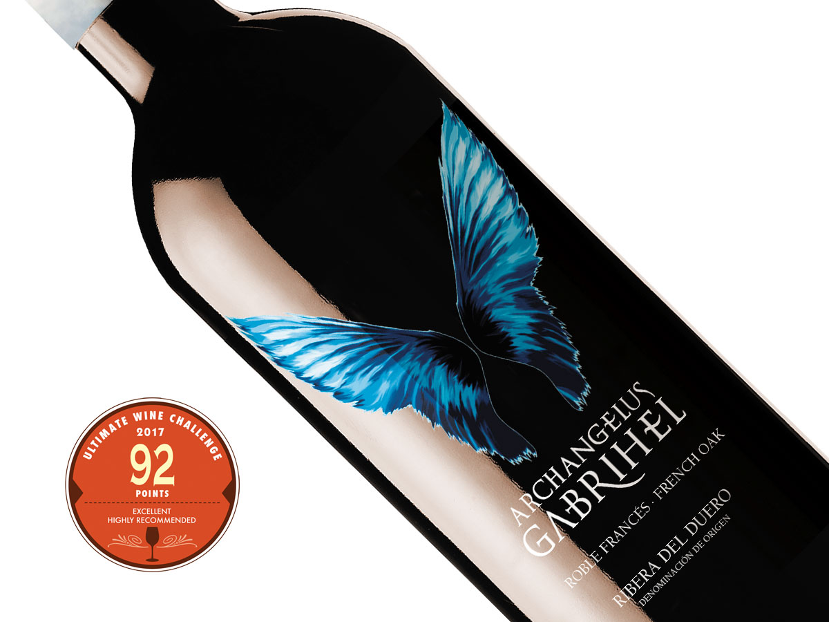 Archangelus Gabrihel french barrel 92 points Ultimate Wine Challenge