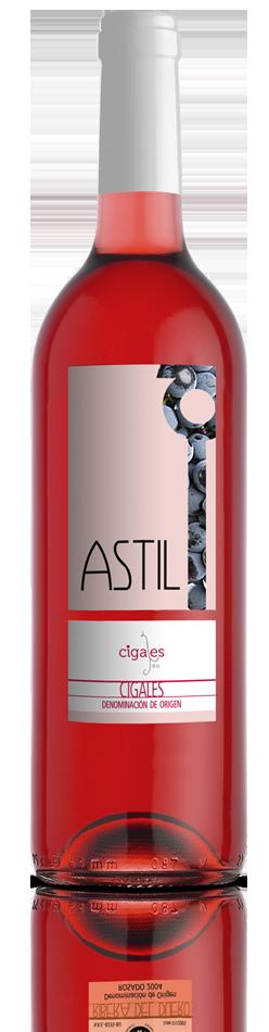 Astil vino rosado denominación de origen Cigales